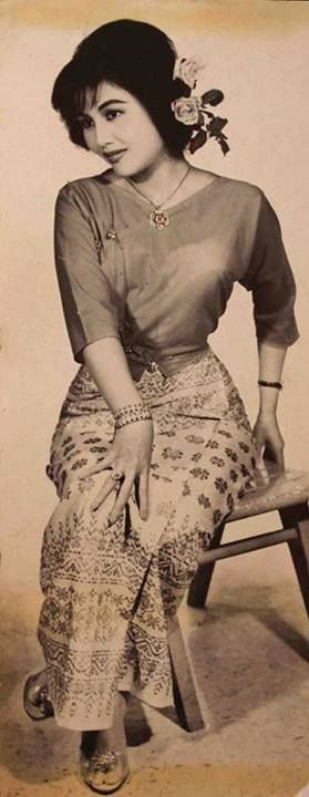 6. Daw Khin Yu May 1960s Burmese actress