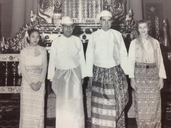 9. Richard Nixon visit to Burma 1953