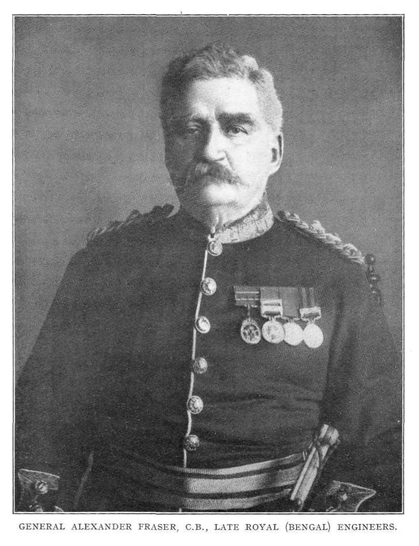 Alexander Fraser, Bengal Engineers