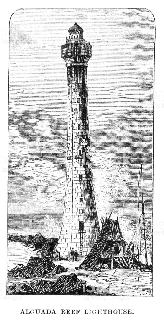 Taken from Lighthouses and Lightships of 1870.